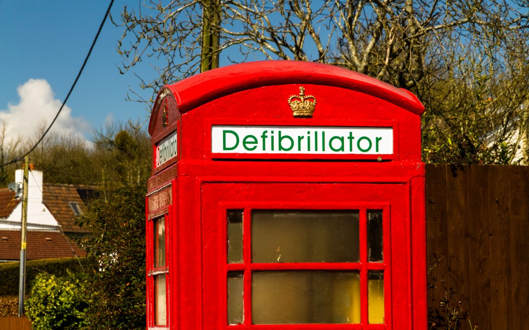 Health Groups In Partnership To Create UK Defibrillator Map